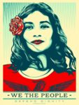 Shepard Fairey We the People Defend Dignity