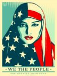 Shepard Fairey We the People are Stronger Than Fear